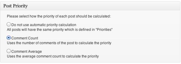 Google XML Sitemaps Post Priority